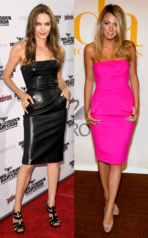 blake hot pink dress